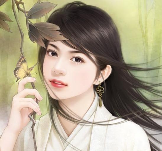 عکس کارتونی دختر کره ای